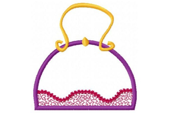Purse a Day Applique Accessories Embroidery Design By Sue O'Very Designs