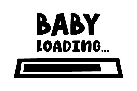 Baby Loading... Baby Craft Cut File By Creative Fabrica Crafts - Image 2
