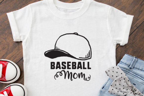 Download Free Baseball Mom Cutting File Graphic By Nerd Mama Cut Files for Cricut Explore, Silhouette and other cutting machines.
