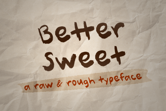 Print on Demand: Better Sweet Script & Handwritten Font By Misti