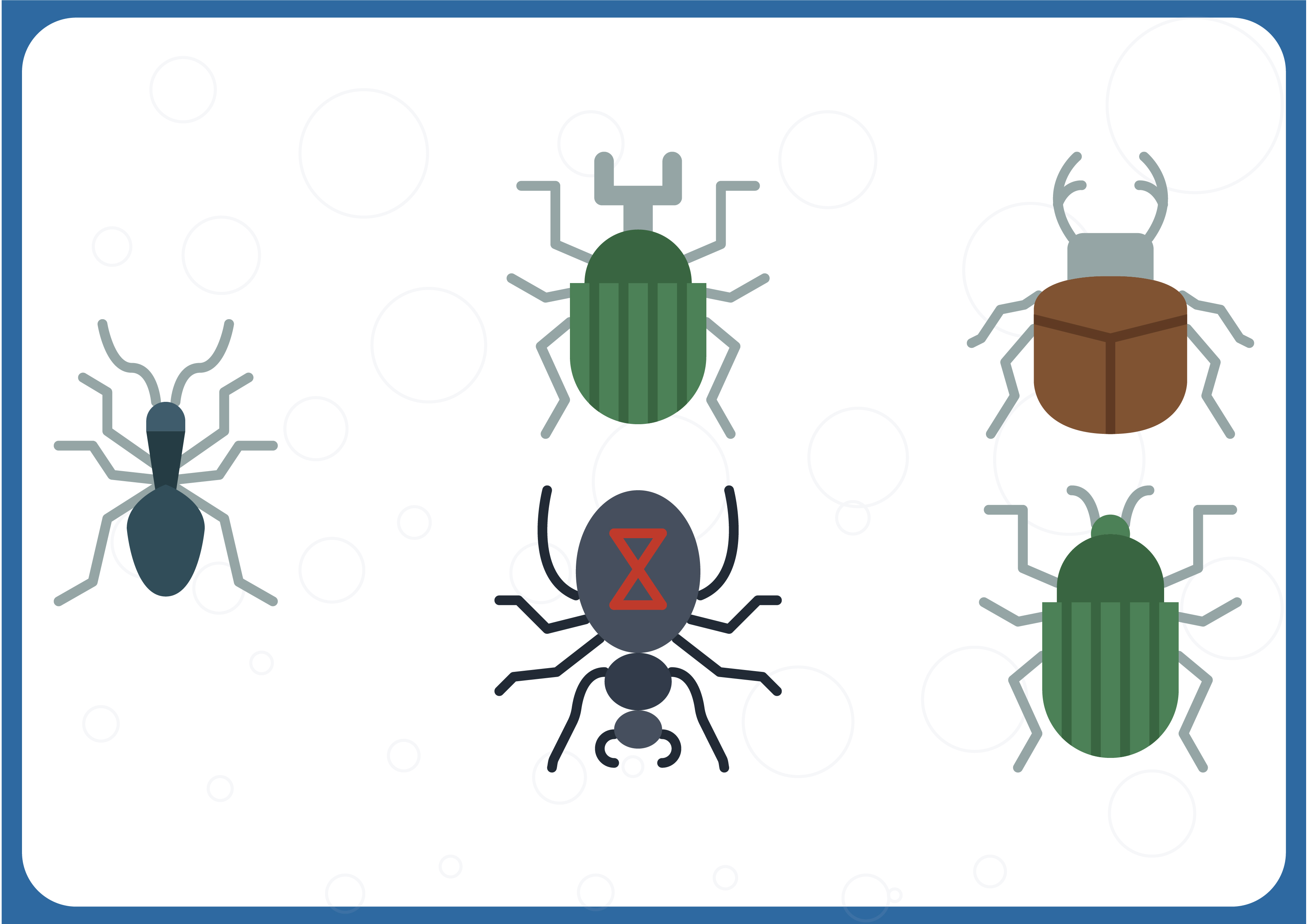 Download Free Bugs Insects Grafico Por Colorkhu123 Creative Fabrica for Cricut Explore, Silhouette and other cutting machines.