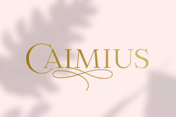 Print on Demand: Calmius Serif Font By NREY