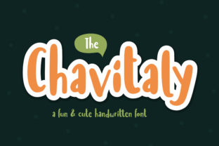 Print on Demand: Chavitaly Display Font By Orenari
