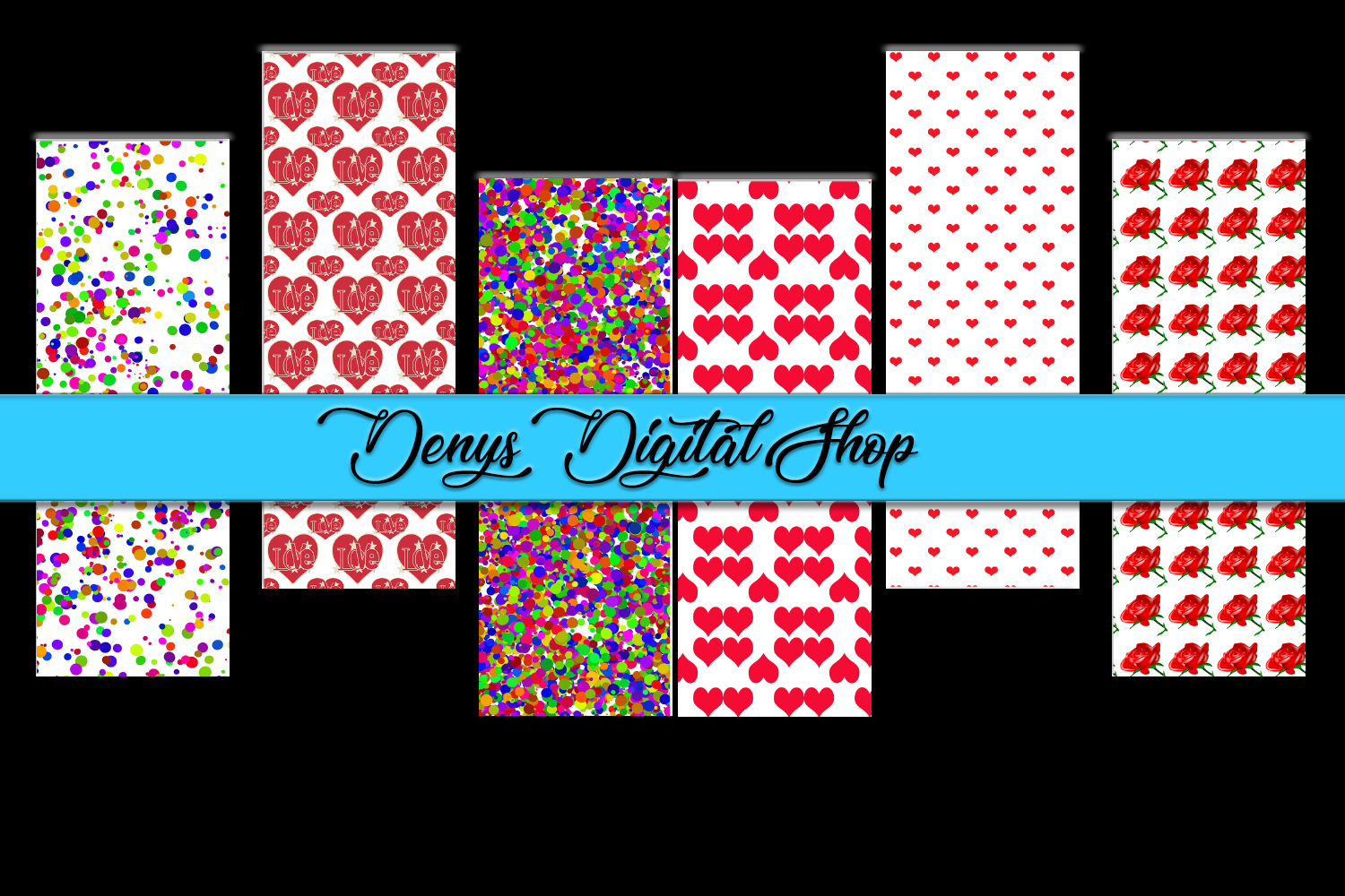Download Free Colorful Bookmarks Digital Printable Graphic By for Cricut Explore, Silhouette and other cutting machines.