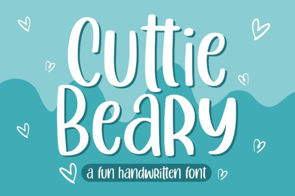 Print on Demand: Cuttie Beary Display Font By goodjavastudio