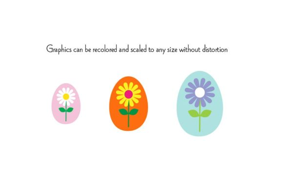 Download Free Easter Eggs Clipart Graphics Graphic By Melissa Held Designs for Cricut Explore, Silhouette and other cutting machines.