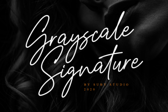 Print on Demand: Grayscale Script & Handwritten Font By Suby Store
