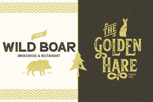 Print on Demand: Hops and Barley Display Font By fenotypefonts