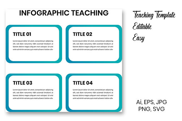 Print on Demand: Infographic Teaching Material Graphic Teaching Materials By Masyafi Creative Studio