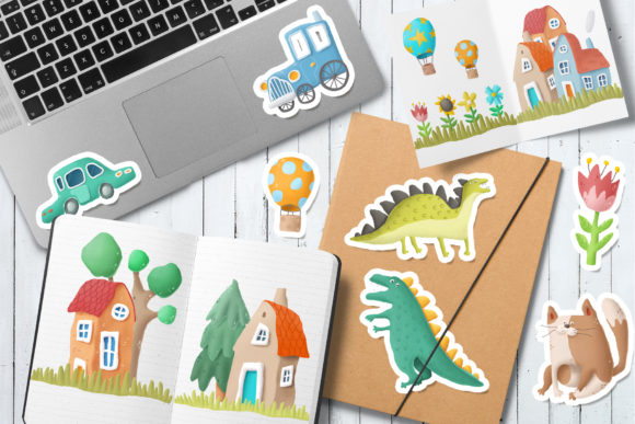 Print on Demand: Kids Clip Art Collection Graphic Illustrations By Architekt_AT - Image 2
