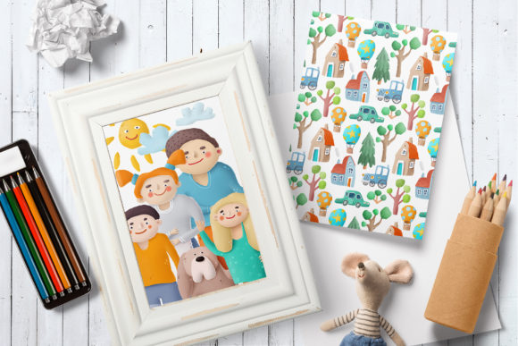 Print on Demand: Kids Clip Art Collection Graphic Illustrations By Architekt_AT - Image 3