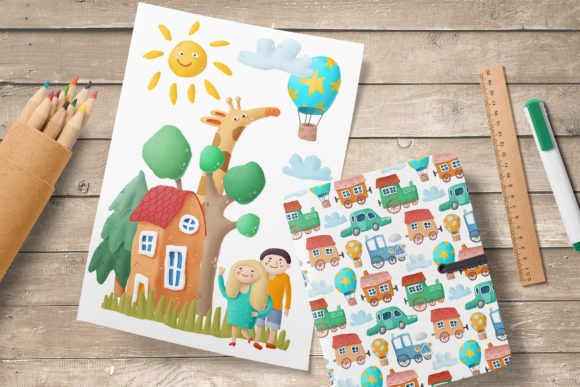 Print on Demand: Kids Clip Art Collection Graphic Illustrations By Architekt_AT - Image 4