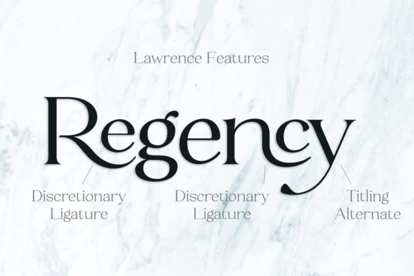 Print on Demand: Lawrence Serif Font By fenotypefonts - Image 7