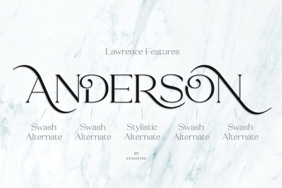Print on Demand: Lawrence Serif Font By fenotypefonts - Image 8