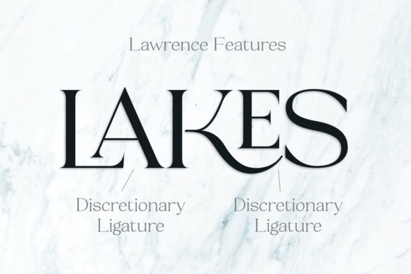 Print on Demand: Lawrence Serif Font By fenotypefonts - Image 9
