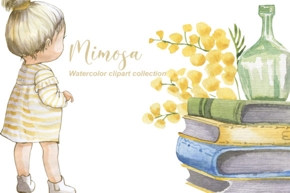 Print on Demand: Mimosa Graphic Illustrations By laffresco04