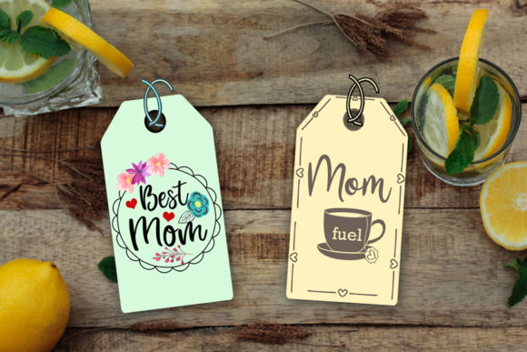 Download Free Mother S Day Gift Tags Printable Tags Graphic By Happy for Cricut Explore, Silhouette and other cutting machines.