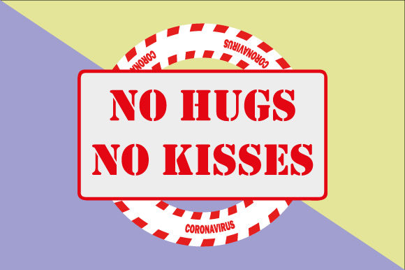 Download Free No Hugs No Kisses Graphic By Graphicsfarm Creative Fabrica for Cricut Explore, Silhouette and other cutting machines.