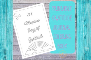 Download Free Printable Unicorn Gratitude Journal Graphic By for Cricut Explore, Silhouette and other cutting machines.