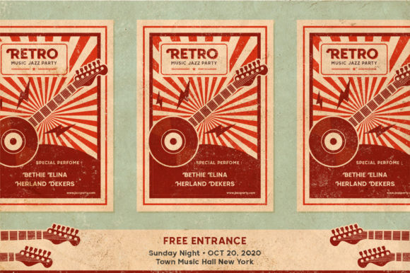 Print on Demand: Retroica Display Font By Runsell Graphic - Image 4