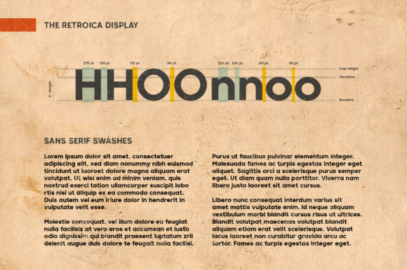 Print on Demand: Retroica Display Font By Runsell Graphic - Image 9