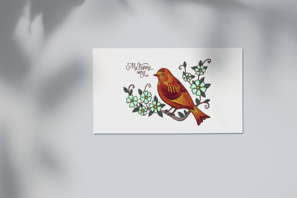 Spring Bird Coloring Page Graphic Coloring Pages & Books Adults By NataliMyaStore - Image 4