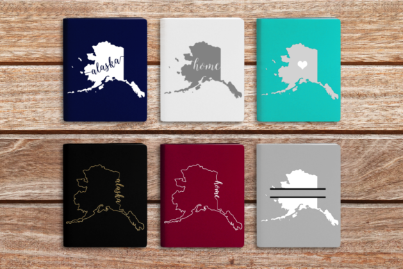 State of Alaska Graphic Crafts By DesignedByGeeks