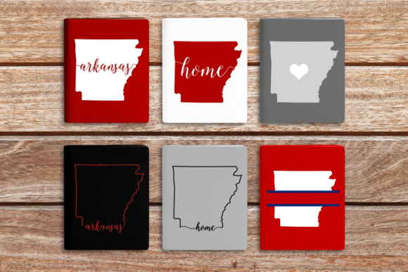 State of Arkansas Graphic Crafts By DesignedByGeeks