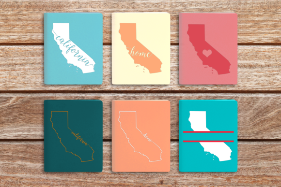 State of California Graphic Crafts By DesignedByGeeks