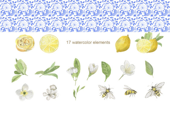 Print on Demand: Sunny Day Watercolor Collection Graphic Illustrations By laffresco04 - Image 4