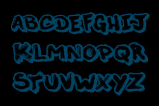 Print on Demand: This Night Blackletter Font By qkila 2