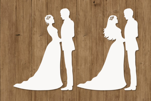 Wedding Bride and Groom . Graphic Graphic Templates By Doodle Cloud Studio