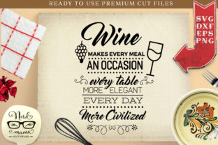 Download Free Wine Poster Cut File Graphic By Nerd Mama Cut Files Creative for Cricut Explore, Silhouette and other cutting machines.