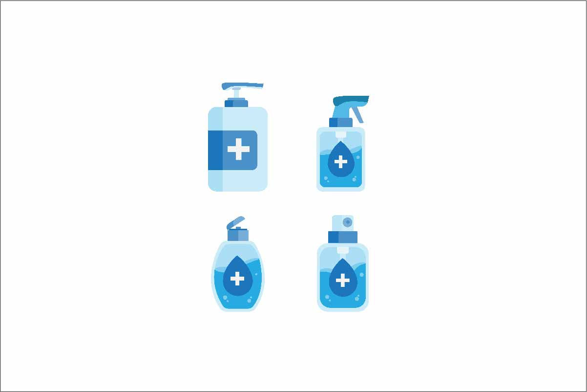 Download Free Hand Sanitizer Product Bottle Icon Set Graphic By Aryo Hadi Creative Fabrica PSD Mockup Template