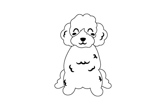 Poodle Dogs Craft Cut File By Creative Fabrica Crafts - Image 2