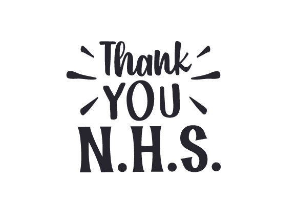 Download Free Thank You N H S Svg Cut File By Creative Fabrica Crafts for Cricut Explore, Silhouette and other cutting machines.
