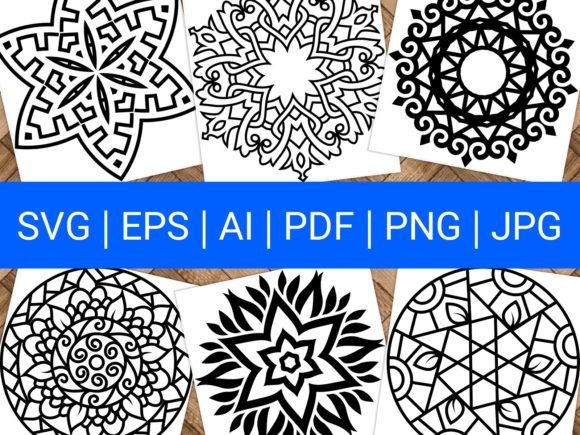 Download Free Beautiful Mandala Design 298 Graphic By Ermannofficial for Cricut Explore, Silhouette and other cutting machines.