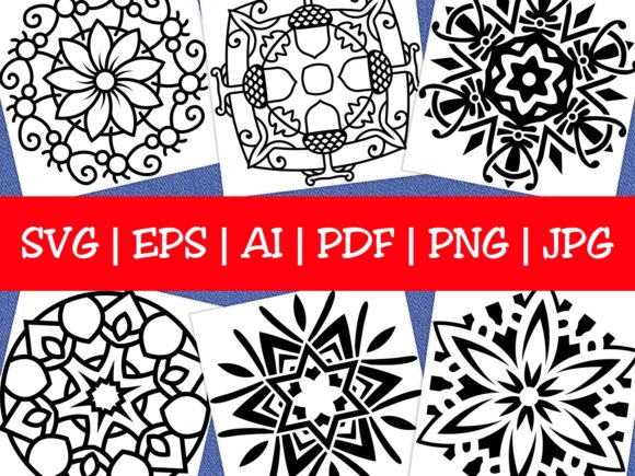 Print on Demand: Mandala Designs Vol. 50 Graphic Coloring Pages & Books By ermannofficial