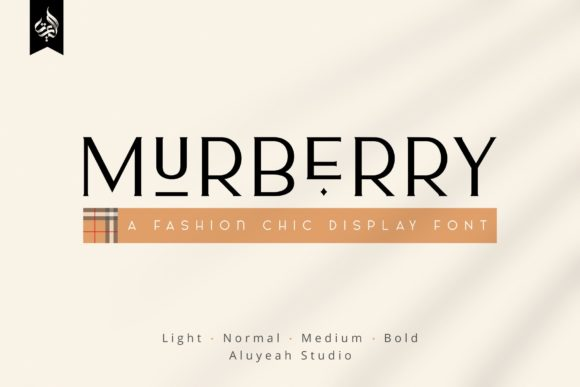 Print on Demand: AL Murberry Serif Font By Aluyeah Studio