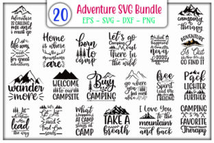 Download Free Adventure Bundle Graphic By Graphicsbooth Creative Fabrica SVG Cut Files