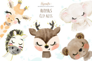 Animals Cliparts Graphic Illustrations By Hippogifts