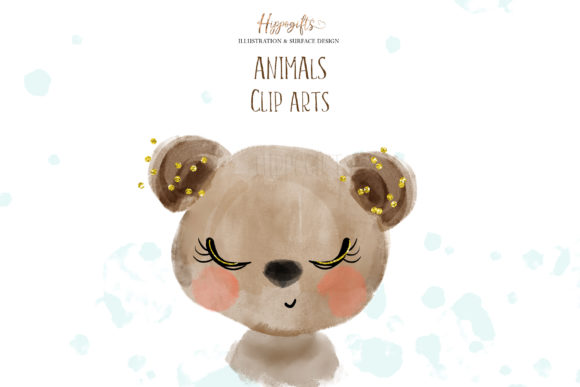 Animals Cliparts Graphic Illustrations By Hippogifts - Image 3