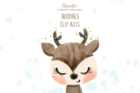 Animals Cliparts Graphic Illustrations By Hippogifts - Image 5