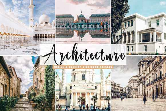 Print on Demand: Architecture Lightroom Presets Pack Graphic Actions & Presets By Creative Tacos