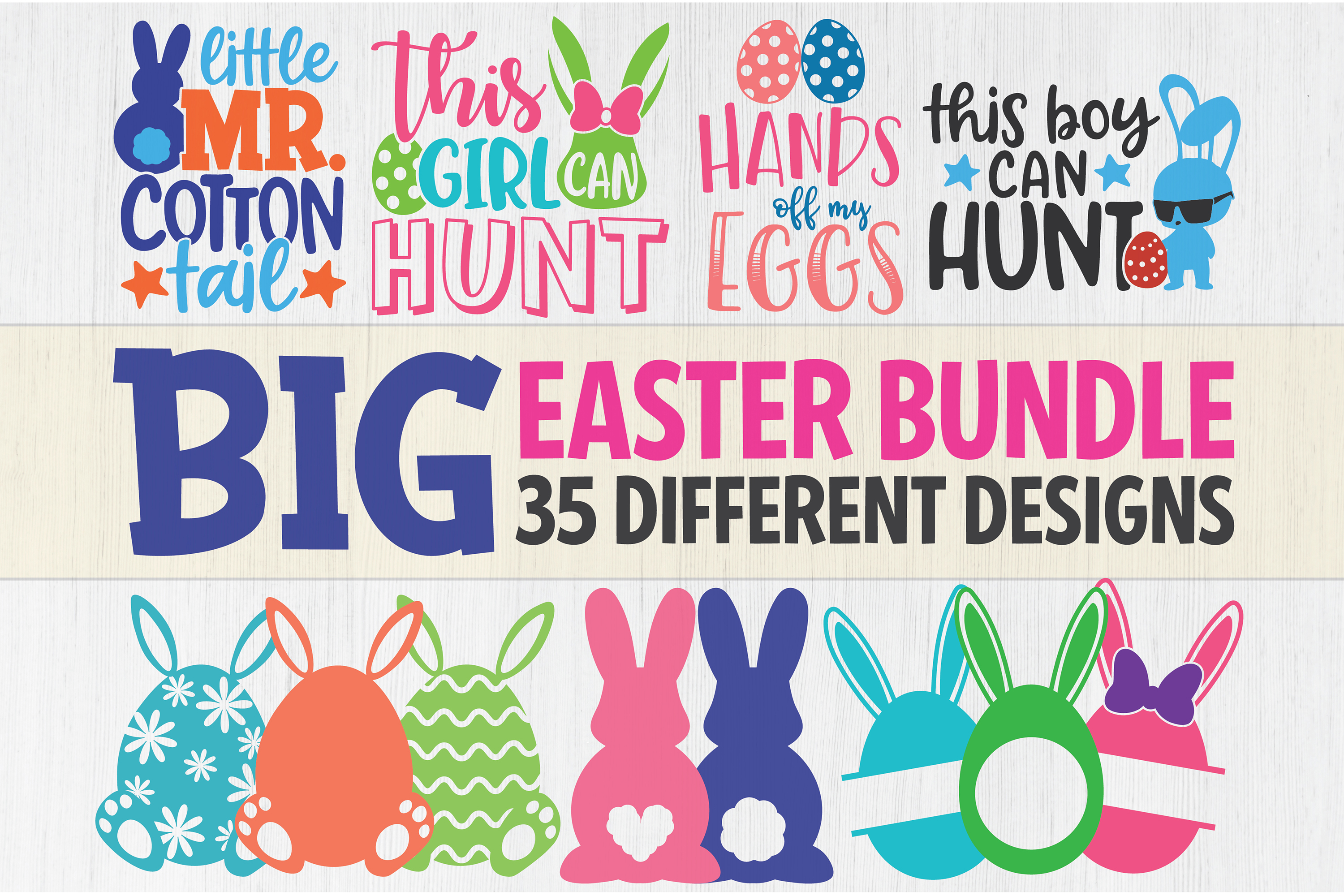 Big Easter Bundle Graphic By Seventhheaven Studios Creative