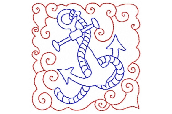By the Sea Beach & Nautical Embroidery Design By Sue O'Very Designs