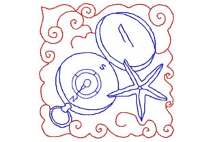 By the Sea Beach & Nautical Embroidery Design By Sookie Sews