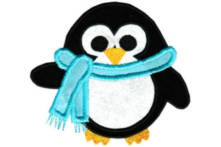 Cute Penguin Birds Embroidery Design By Sookie Sews