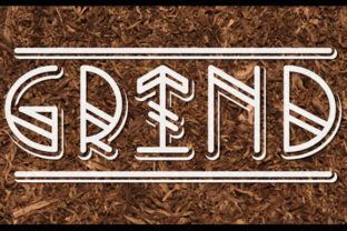 Print on Demand: Grind Display Font By qkila 2