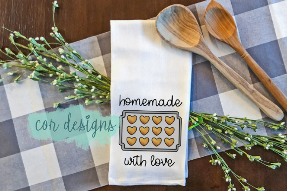 Print on Demand: Homemade with Love Graphic Crafts By designscor